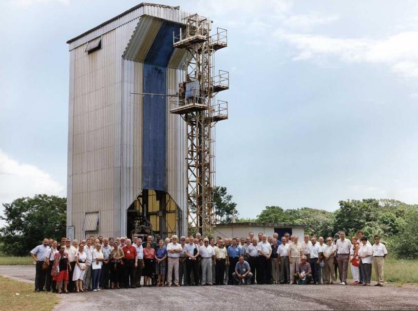 Le site fusée-sonde du CSG.