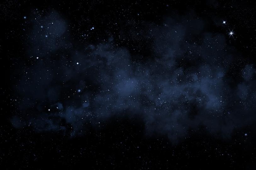 Fond de ciel étoilé